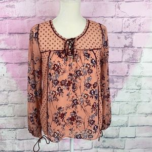 Abercrombie & Fitch flowy floral blouse XS